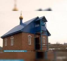 ветеран построил церковь