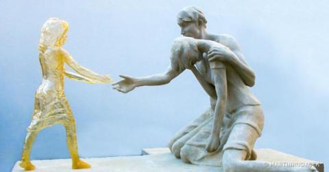 Памятник нерождённым детям - жертвам абортов